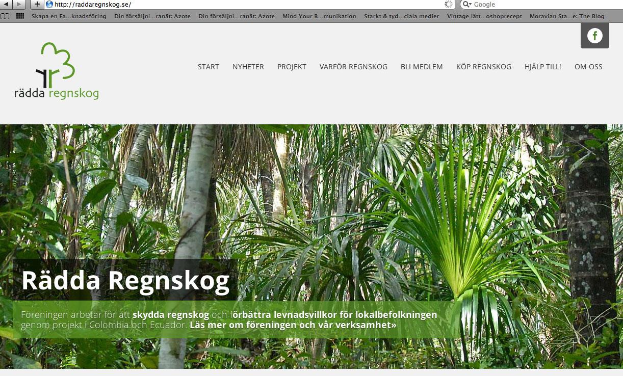 Rädda regnskog_